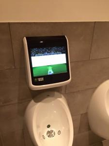 Die kurzweiligste Herrentoilette Deutschlands